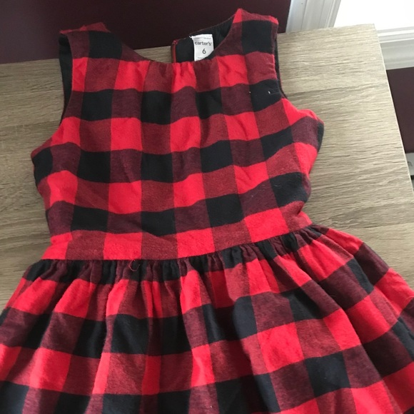 82073626d5f Carter s Other - Buffalo Plaid Girl s Dress from Carter s